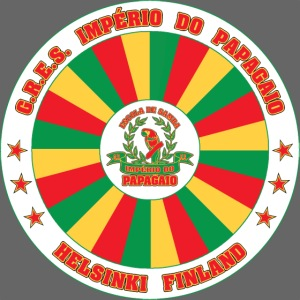 Papagaio drum logo
