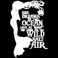 Sie träumt vom Ozean