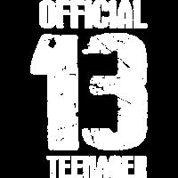 Official Teenager 13. Geburtstag Geschenk