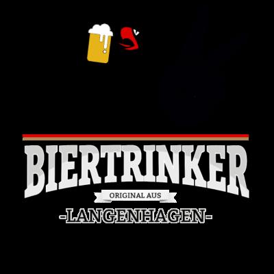 Bier aus Langenhagen Deutschland - Original Biertrinker aus Langenhagen in Deutschland. - wm,schwarz,rot,orginal,gold,fussballtrikot,fussball,fussball,fun,cool,cool,bestseller,Weltmeisterschaft,Trikot,Stadt,Schland,Party,Langenhagen,Fußball,Deutschland,Deutscher,Deutsch,Biertrinker,Bier,BRD