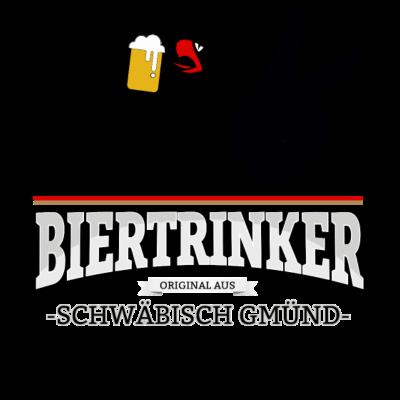 Bier aus Schwäbisch Gmünd Deutschland - Original Biertrinker aus Schwäbisch Gmünd in Deutschland. - wm,schwarz,rot,orginal,gold,fussballtrikot,fussball,fussball,fun,cool,cool,bestseller,Weltmeisterschaft,Trikot,Stadt,Schwäbisch Gmünd,Schland,Party,Fußball,Deutschland,Deutscher,Deutsch,Biertrinker,Bier,BRD