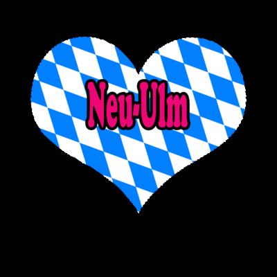 Love Bayern Stadt Neu Ulm - Love Bayern Stadt Neu Ulm - love,i,gifts,fußball,deutschland,bundesländer,Zugspitze,Weihnachten,Ulm,Stuttgart,Stadt,Schwaben,Pfalz,Oktoberfest,Love,Geschenke,Germany,Freistaat,CSU,Bayern,Alpen