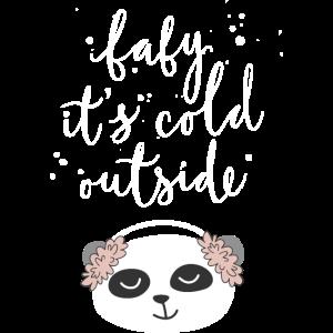 Kalt draußen
