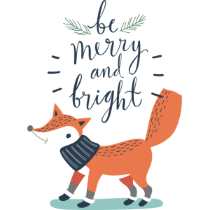 BeMerryAndBright vectorstock 11886340