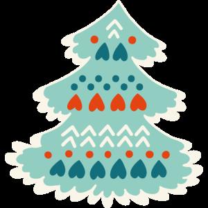 ChristmasTree vectorstock 6725226