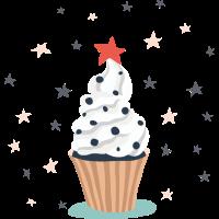 Cupcake vectorstock 11886340