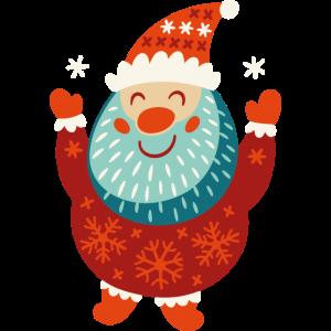 Santa vectorstock 6725226