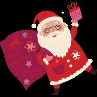 Santa 2 vectorstock 6454009
