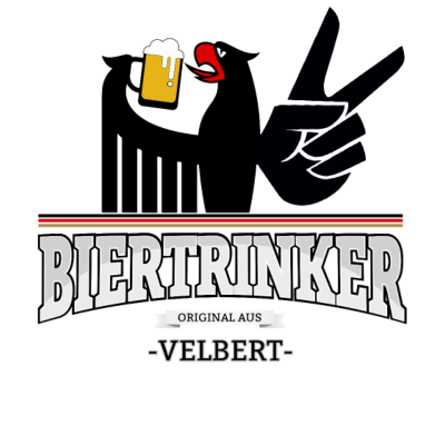 Bier aus Velbert Deutschland - Original Biertrinker aus Velbert in Deutschland. - wm,schwarz,rot,orginal,gold,fussballtrikot,fussball,fussball,fun,cool,cool,bestseller,Weltmeisterschaft,Velbert,Trikot,Stadt,Schland,Party,Fußball,Deutschland,Deutscher,Deutsch,Biertrinker,Bier,BRD