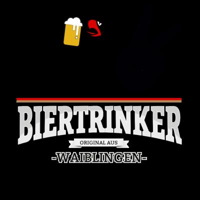 Bier aus Waiblingen Deutschland - Original Biertrinker aus Waiblingen in Deutschland. - wm,schwarz,rot,orginal,gold,fussballtrikot,fussball,fussball,fun,cool,cool,bestseller,Weltmeisterschaft,Waiblingen,Trikot,Stadt,Schland,Party,Fußball,Deutschland,Deutscher,Deutsch,Biertrinker,Bier,BRD