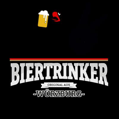 Bier aus Würzburg Deutschland - Original Biertrinker aus Würzburg in Deutschland. - wm,schwarz,rot,orginal,gold,fussballtrikot,fussball,fussball,fun,cool,cool,bestseller,Würzburg,Weltmeisterschaft,Trikot,Stadt,Schland,Party,Fußball,Deutschland,Deutscher,Deutsch,Biertrinker,Bier,BRD