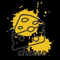 Käse Essen Senf Geschenk