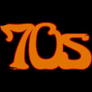 70s vintage font
