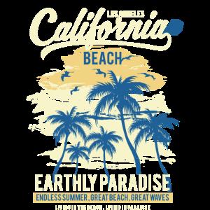 California Beach Earthly Paradise