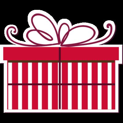 Geschenk -  - weihnachtlich,dekorativ,Xmas,Winterurlaub,Winter,Weihnachtslieder,Weihnachtsgeschenk,Tannenbaum,Präsent,Jahreszeit,Geburtstagsgeschenk,Geburtstag,Dekorieren,Dekoration,Christmas,Aufkleber