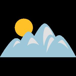 Bergszene