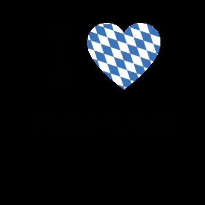 i love bayern bavaria Neu Ulm - i love bayern bavaria Neu Ulm - wiesn,weiß,weihnachten,tshirt,scho,mundart,liebhaber,liebe,gsuffa,geschenk,geburtstag,design,blau,bayrisch,bayer,Ulm,Oktoberfest,München,Love,Liebhaberei,Bayern