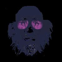 Löwen-Hipster T-Shirt