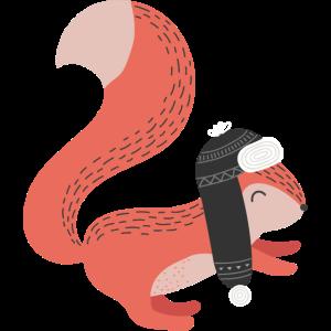 Weihnachten Eichhörnchen