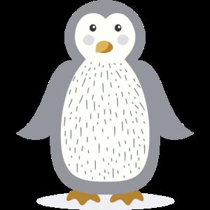 Weihnachts-Pinguin