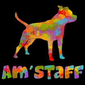 Am'staff mehrfarbig