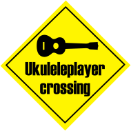Motiv ~ Uke player crossing