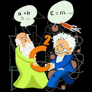 Mathe- und Wissenschaftshemd