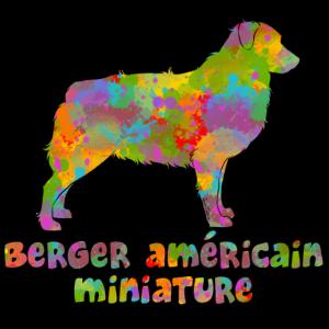 Multi Miniatur Amerikanischer Schäfer