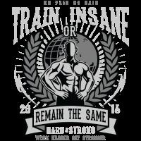 Train Insane Hart und Stark