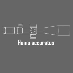 Homo accuratus weiss