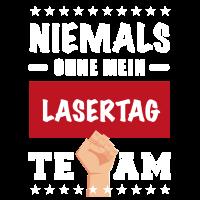 Niemals ohne mein Lasertag Team