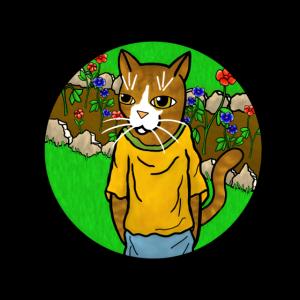 Spring Garden Cats