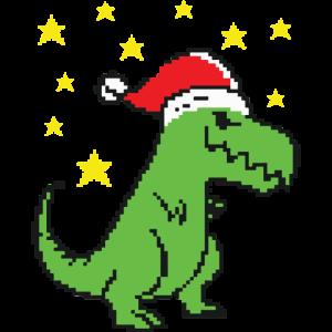 Christmas T Rex