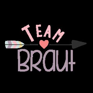 Team Braut Pfeil