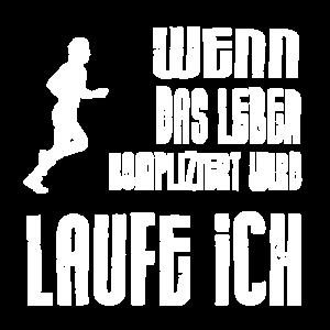Laufe ich..Laufen..Joggen..Marathon...