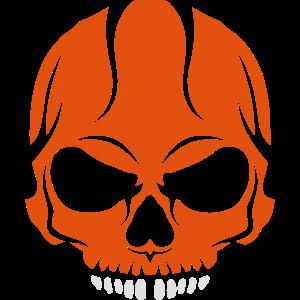 unheimlich Tod Kopf Halloween-Schädel Zeichnung 2800