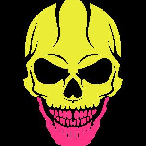 unheimlich Tod Kopf Halloween-Schädel Zeichnung 2809