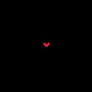 Infinity Love Schrift Unendlichkeit 8 rotes Herz