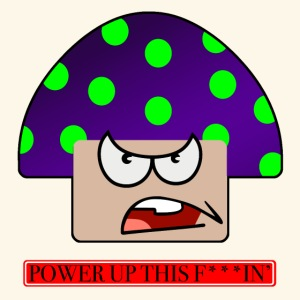 Angry mushroom