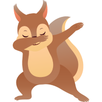 Squirrel Dab Dance - Cool Gift