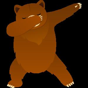 Brown Bear Dab Dance - Cool Gift