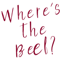 Where`s the Beef classik t shirt Designe