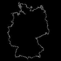 Deutschland mit nicht irdischen Gesichtern