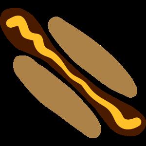 Hot Dog mit Senf