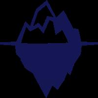 Eisberg Geschenk