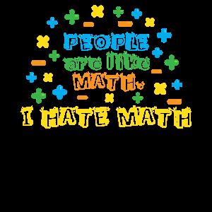 Menschen sind wie Mathe, ich hasse Mathe