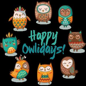 Glückliche owlidays