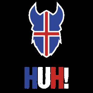 Island Nationalmannschaft Fan-Shirt Schlachtruf
