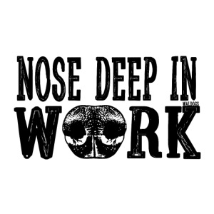 Nose Deep in Work 2