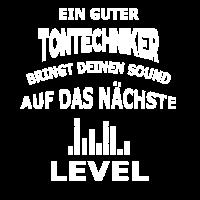 Tontechniker Sound Level - Tolles Geschenk